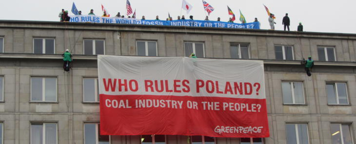 Coal is King at UN Climate Talks in Poland
